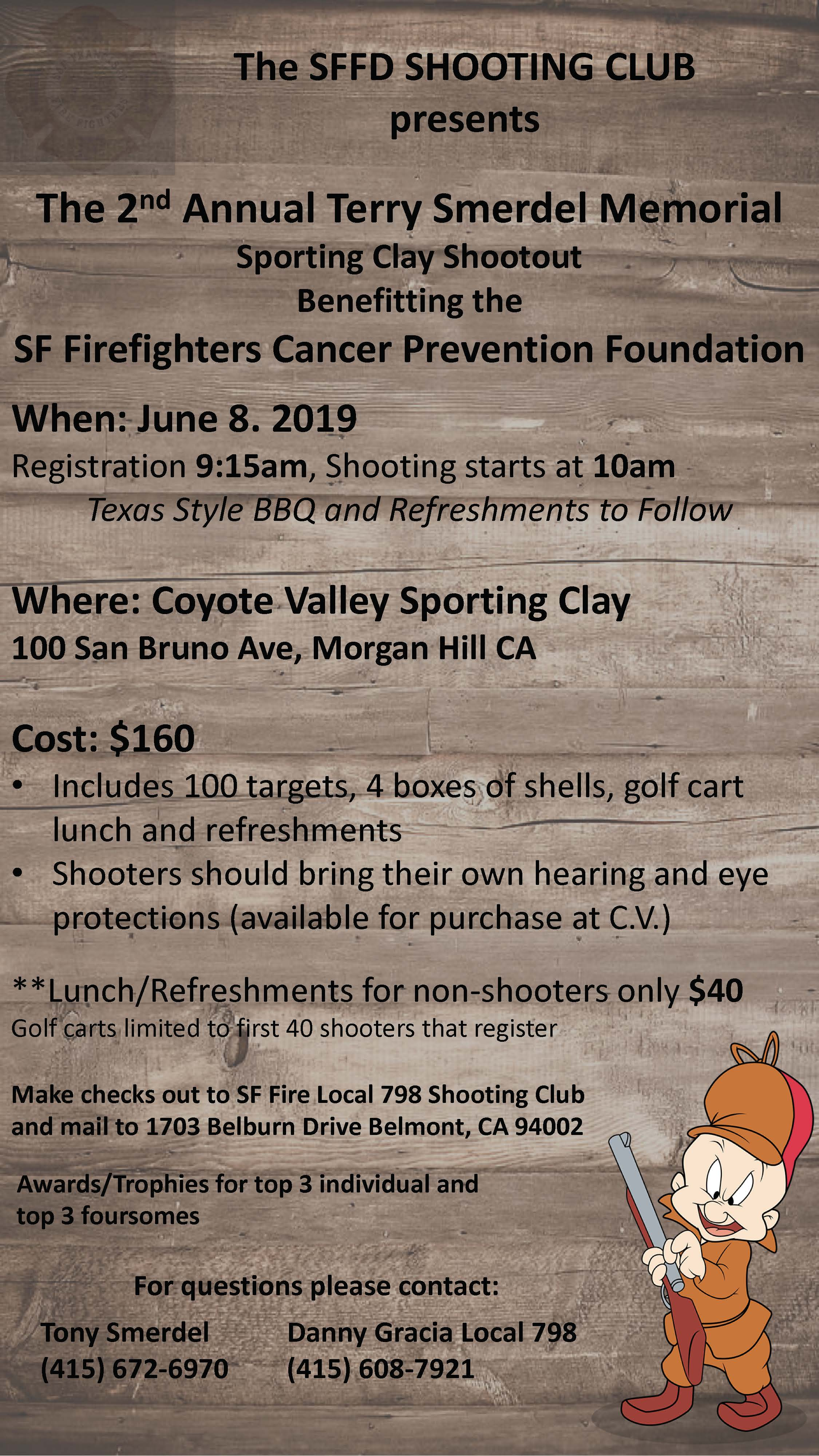 629a386c70f52b The 2nd Annual Terry Smerdel Memorial Sporting Clay Shootout